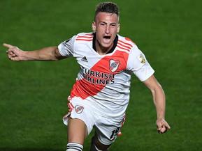 River con goles de Romero venció a Argentinos Juniors y pasa a cuartos de final de Libertadores