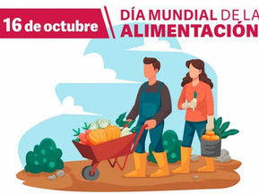Este sábado se celebra el Día Mundial de la Alimentación