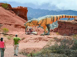 Hallan restos fósiles de un dinosaurio carnívoro de unos 70 millones de años de antigüedad
