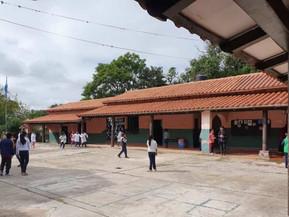 Refaccionaron la escuela José Manuel Estrada de San Lorenzo