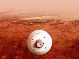"""La misión """"Perseverance"""" de la NASA llegó a Marte"""