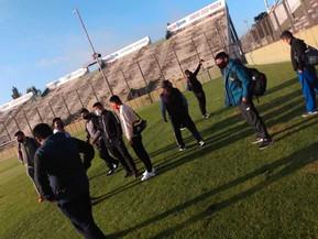Jóvenes del Instituto Michel Torino realizaron actividades deportivas en el Martearena