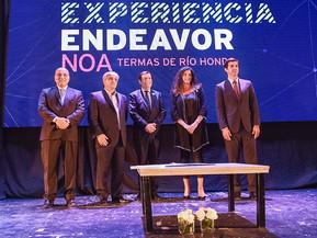 Experiencia Endeavor Noa 2018: Urtubey, Manzur y Zamora juntos