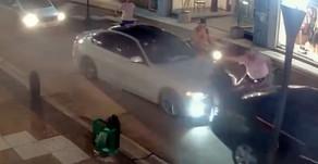 Choque, discusión y piñas en pleno centro de Gualeguaychú [VIDEO]