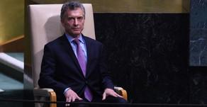 """""""Felicito a los argentinos que fueron a trabajar contra viento y marea"""""""