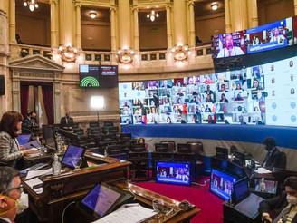 El Senado aprobó leyes económicas que apuntan a impulsar la reactivación de la economía