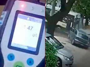Un colectivero borracho chocó contra un auto y provocó la muerte de hombre