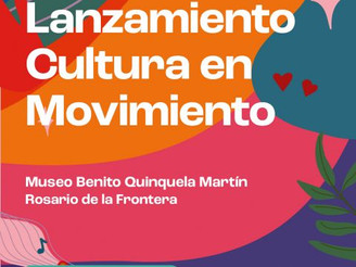 """Lanzamiento del Ciclo Provincial """"Cultura en Movimiento 2021"""""""