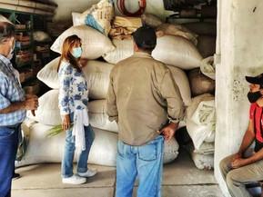 Productores de los valles recibieron elementos para la cosecha de pimentón