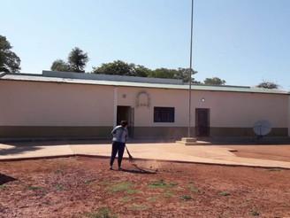 Obras de refacción integral en la escuela de paraje El Retiro