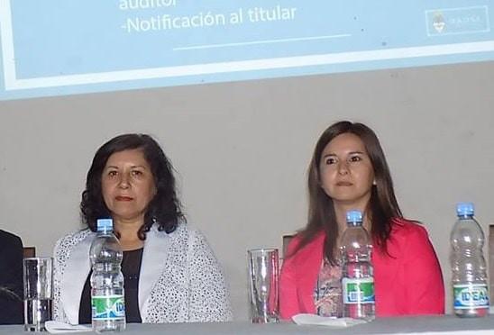 Foto: Yolanda Vega, intendenta de Cerrillos - Daniela Vega Subsecretaria de Acción y Gestión Municipal de la Capital.