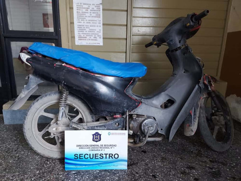 #Capital La Policía recuperó una moto sustraída