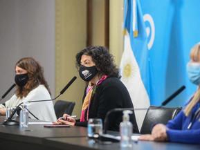 Vizzotti anunció que llegarán al país 861.000 vacunas Astrazeneca que completarán esquema Covishield