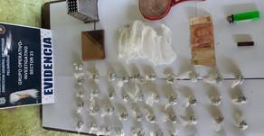 #Orán La policía detuvo a tres personas en un allanamiento por droga