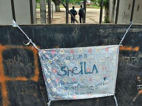 Crimen de Sheila: periciaron el lugar donde hallaron el cuerpo