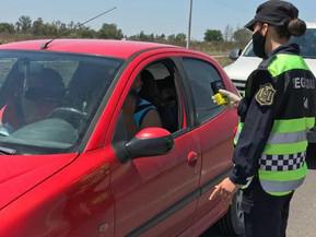 Fueron detectados más de 1.900 infractores a las normativas viales