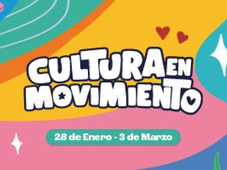 Cultura en Movimiento sigue recorriendo la provincia