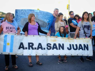 Sancionaron la ley de indemnización para los familiares de los submarinistas del ARA San Juan