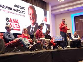 Candidatos del Frente #GanaSalta firmaron un documento compromiso con los Salteños