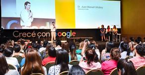 El Gobernador compartió con más de 600 mujeres el taller Crecé con Google 2018