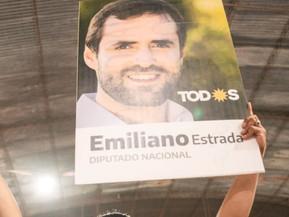Oficialmente el candidato más votado es Emiliano Estrada para Diputado Nacional por Salta