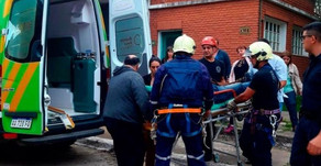 #BsAs Quiso suicidarse desde una antena de 120 metros por ''problemas laborales''