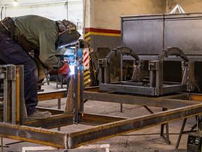 La actividad industrial creció 32,8% durante marzo y la construcción 97,6% informó el Indec