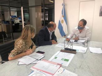 Salta trabaja junto al Gobierno Nacional para obras trascendentales de electrificación y saneamiento