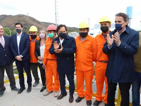 Planta potabilizadora de Campo Alegre y Acueducto Norte beneficiando a más de 200 mil salteños
