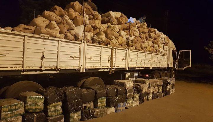Los fardos de hojas de coca con destino al sur del país - El Tribuno
