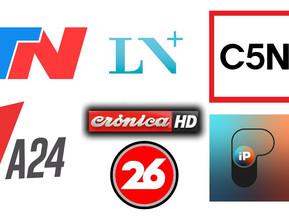 Las elecciones alcanzan 28.9 puntos de rating, C5N lidera la señal de cable