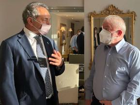 Scioli y Lula hablaron sobre fortalecer el Mercosur a partir de la alianza Argentina-Brasil