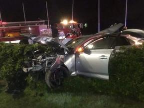 #BsAs Manejaba ebrio su Audi, chocó y murieron sus dos amigos #Tragedia