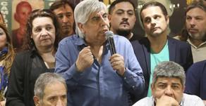 Hugo Moyano le pidió al gobierno que ''escuche al pueblo''