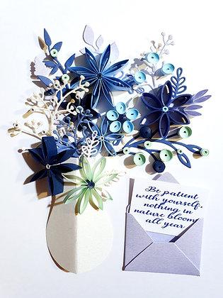 Frozen Floral Bloom Arrangement