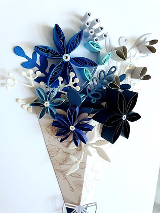 Iced Flower Arrangement