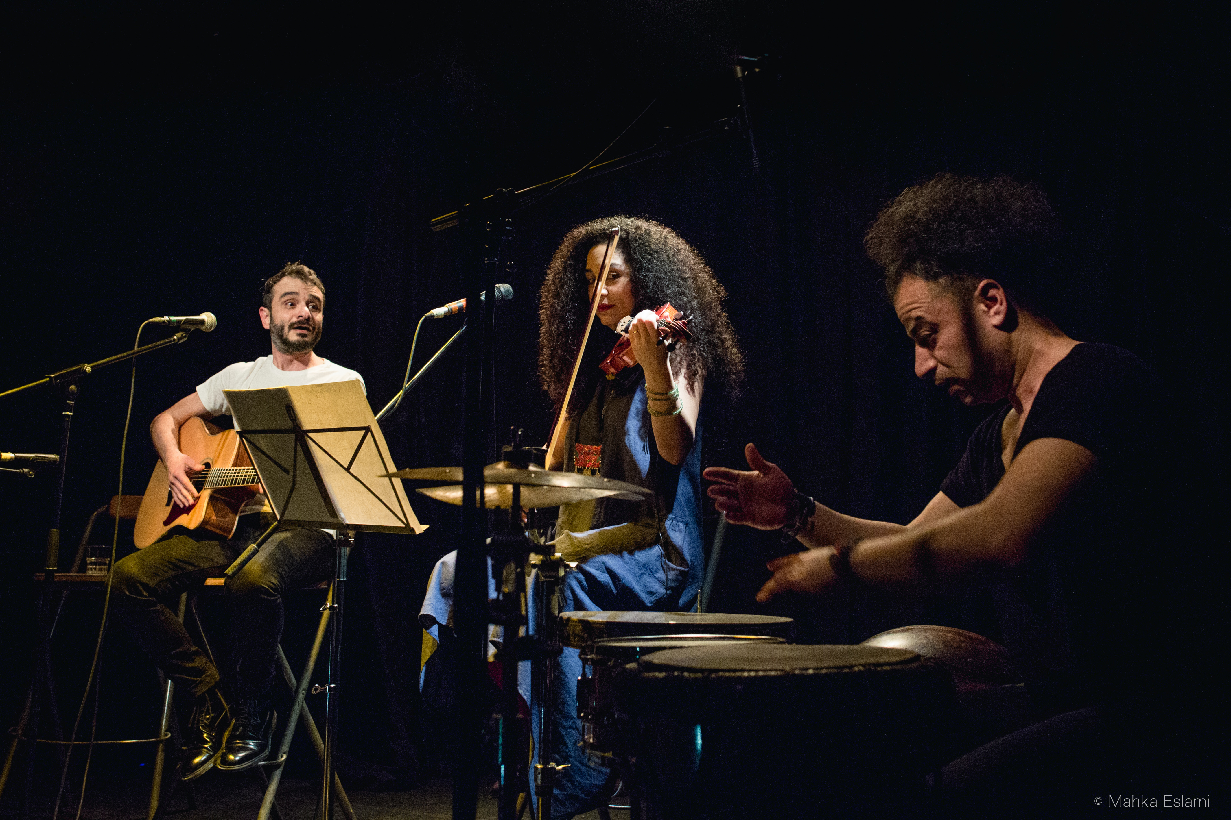 Mahka ESLAMI- Concert Ali Azimi-2