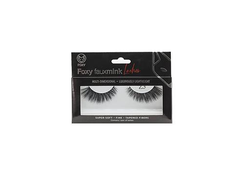 Foxy Faux Mink Eye Lashes Model  Z3