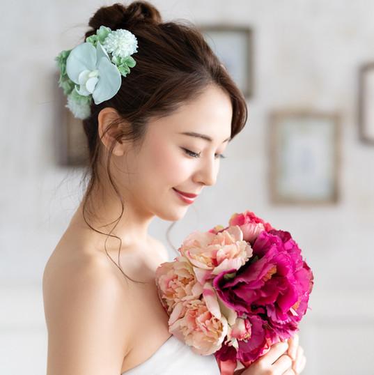 Bridal concept of an asian woman..jpg