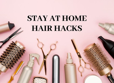 Stay-at-Home Hair Tips