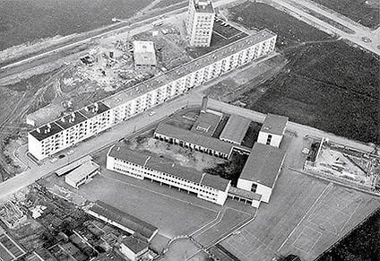 Construction gymnase Chanel Thionville