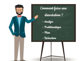 Comment faire une dissertation en français ?