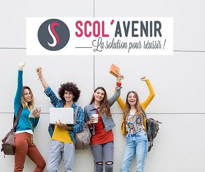 Cours collectifs et à domicile Scol'Avenir