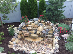 Simple water feature