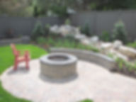 utah landscaping, landscaping, landscaping in Provo, water feature, paver patio