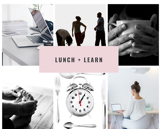 Well+Life+Tribe Lunch + Learn
