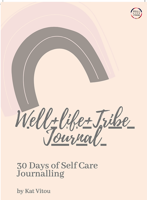 30 Day Self Care Journal
