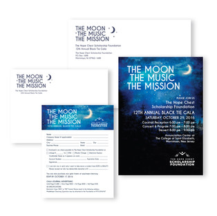 Fundraising Gala Invitation Design