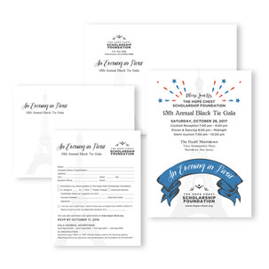 Fundraising Gala Invitation Design