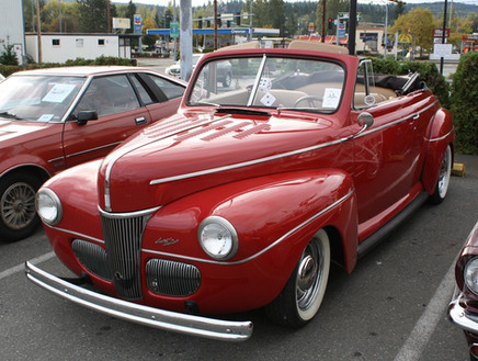 Phil Kuyper 1941 Ford Super Deluxe conve
